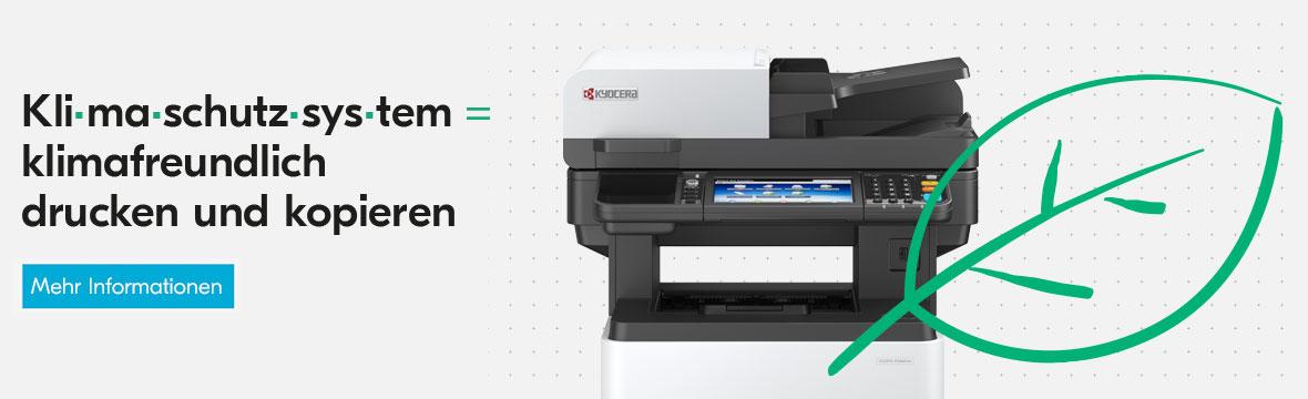 Print Green: KYOCERA Hardware-Kompensation