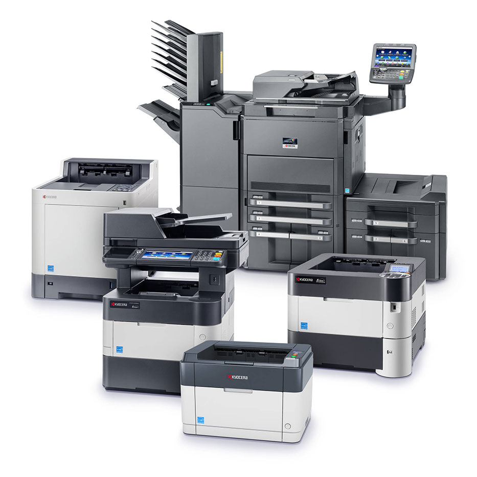 Drucker und Multifuktionsgeräte von KYOCERA